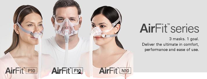 AirFit CPAP masks